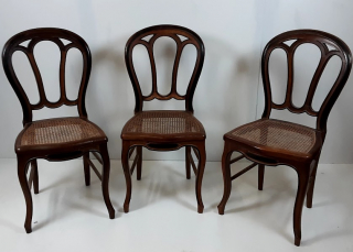 Chaises style Louis Philippe - Ecocyclerie des Mauges