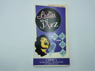 6 CD - Ladies sing Jazz - CD-BD