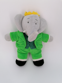 Peluche Babar - Recyclerie Nord Atlantique