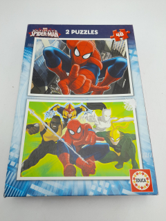 2 puzzles - Spiderman - Recyclerie Nord Atlantique