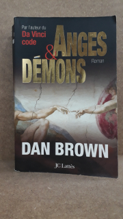 Anges & Demons - Dan BROWN - Ecocyclerie Yonnaise