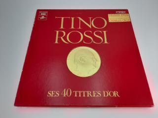 Coffret vinyle collector - Tino Rossi - Recyclerie Nord Atlantique