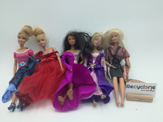 5 barbies - Recyclerie Nord Atlantique