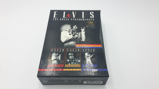 Coffret DVD - Elvis The great performances - CD-BD