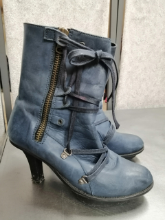 chaussures bottines T37 1/2 - Fripes & Créations