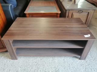 Table basse bois brun - ARTEEC