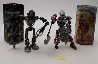 Bionicle lot n°4 - Ecocyclerie des Mauges