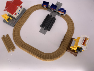 Train Geotrax-fisher price - Recyclerie Nord Atlantique