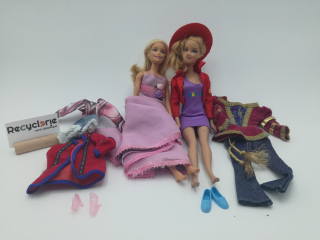 2 barbies - Recyclerie Nord Atlantique