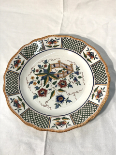Assiette Plate service Montmorency - Recy-Thi