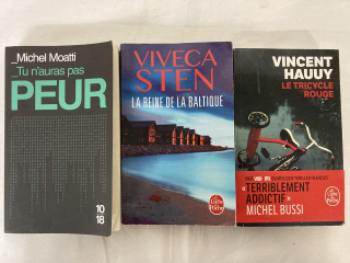 Lot 3 thrillers - Recyclerie le Tri Porteur