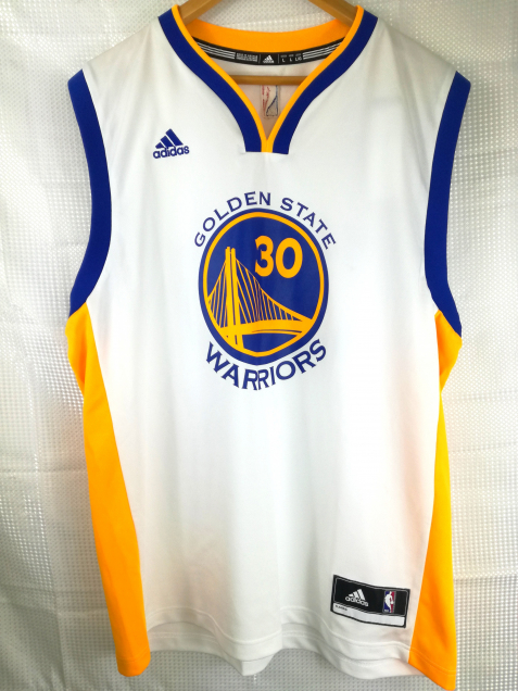 Maillot Basket Golden State - Adidas L