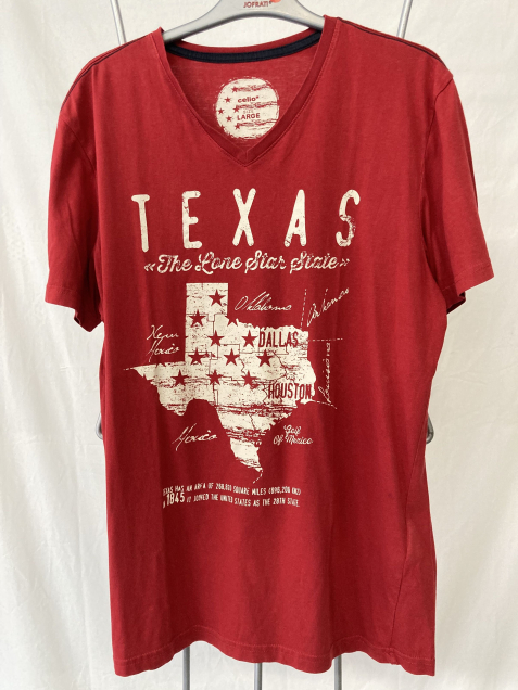 1002 - T-shirt Texas - Taille L